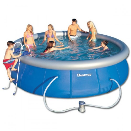 Piscina Hinchable Bestway Fast Set 457x91
