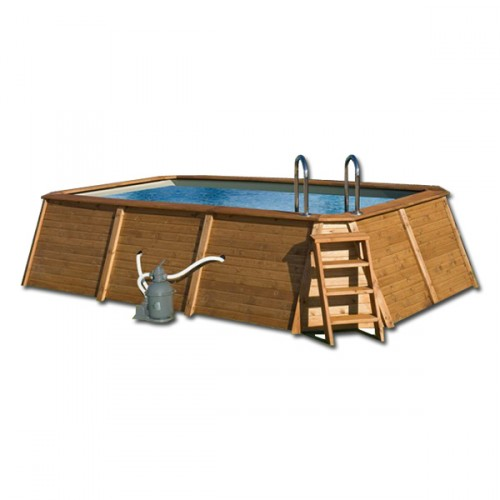 Piscina Rectangular 4.98 x 2.86 x 1.1