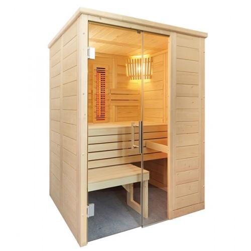 Sauna Alaska Mini Kombi de Vapor e Infrarrojos