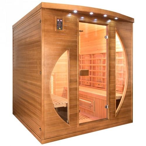Sauna de infravermelhos spectra 4 lugares