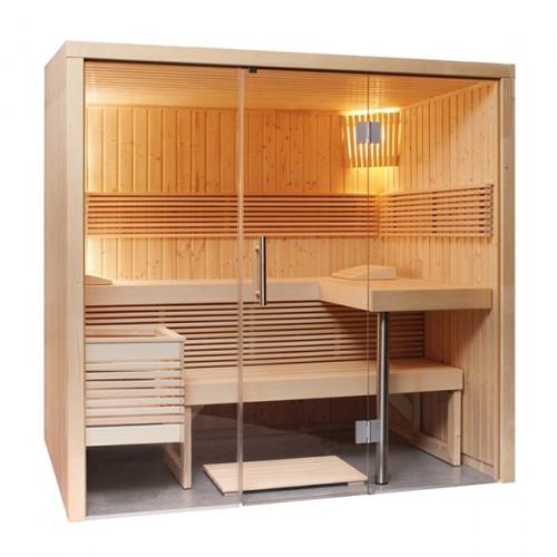 Sauna Vapor Panorama Small Tradicional Finlandesa
