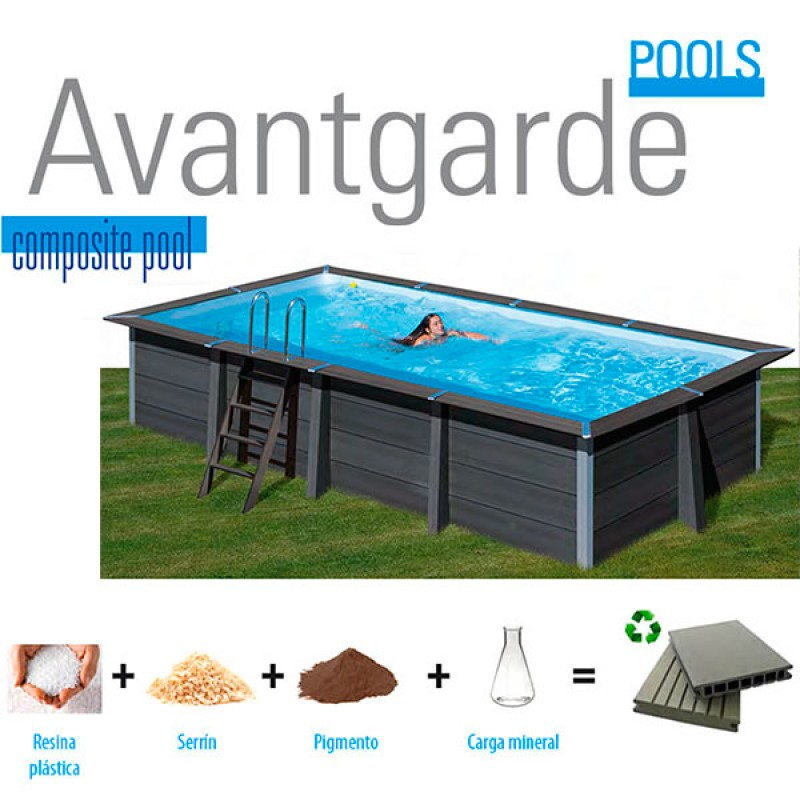 Composite Avantgarde Retangular