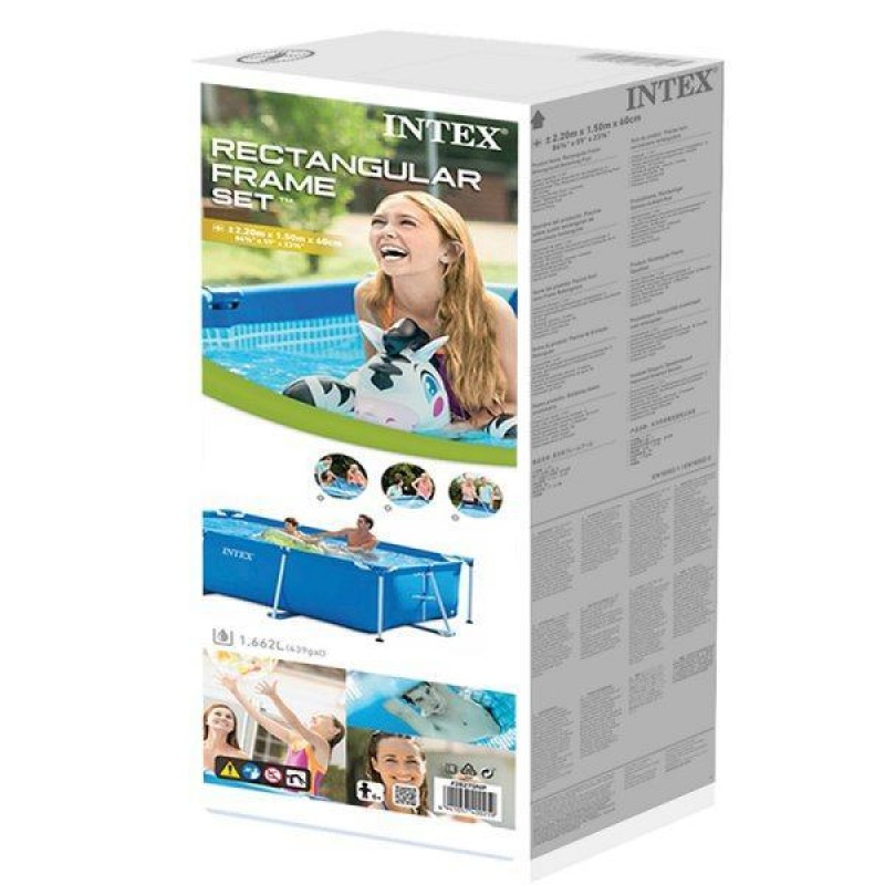 Caixa da piscina Small Frame de Intex