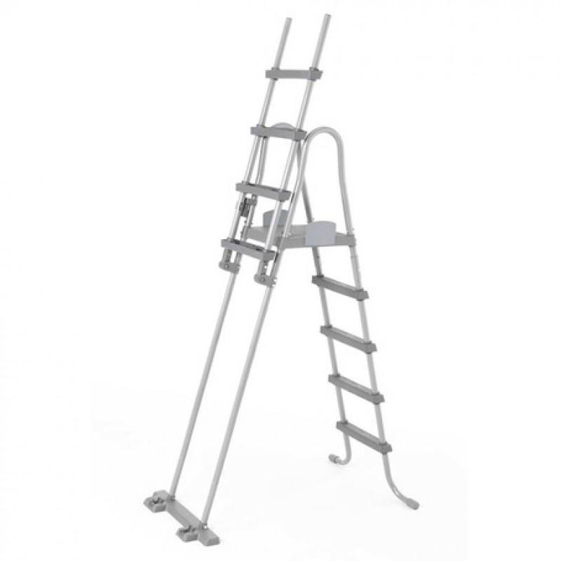 Escada de segurança Bestway com plataforma