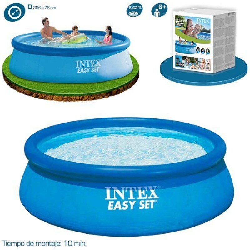 Especificações da piscina Easy Set de Intex