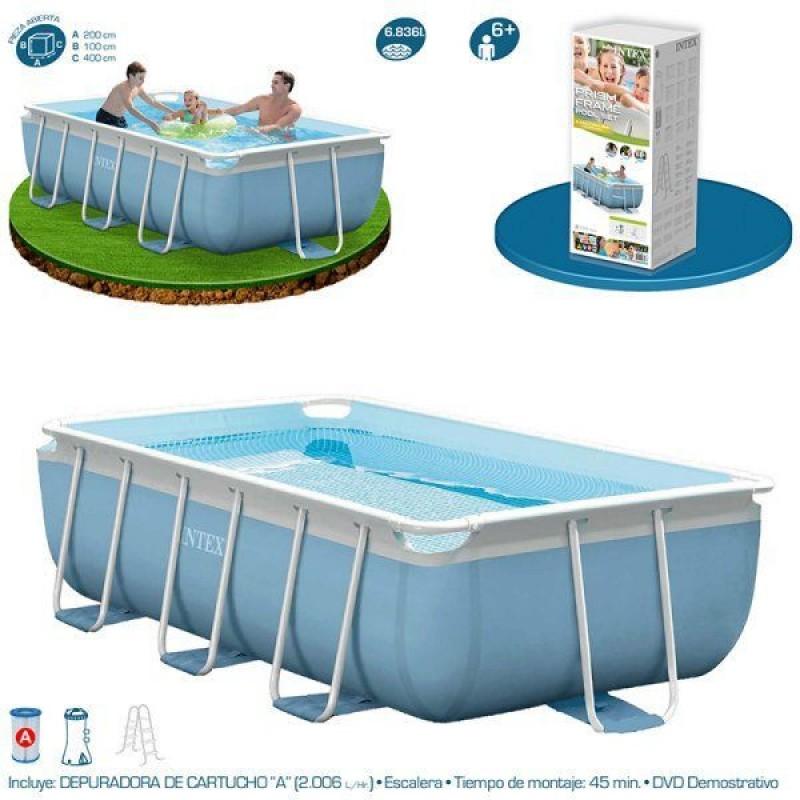 Especificações da piscina Intex Prisma Frame