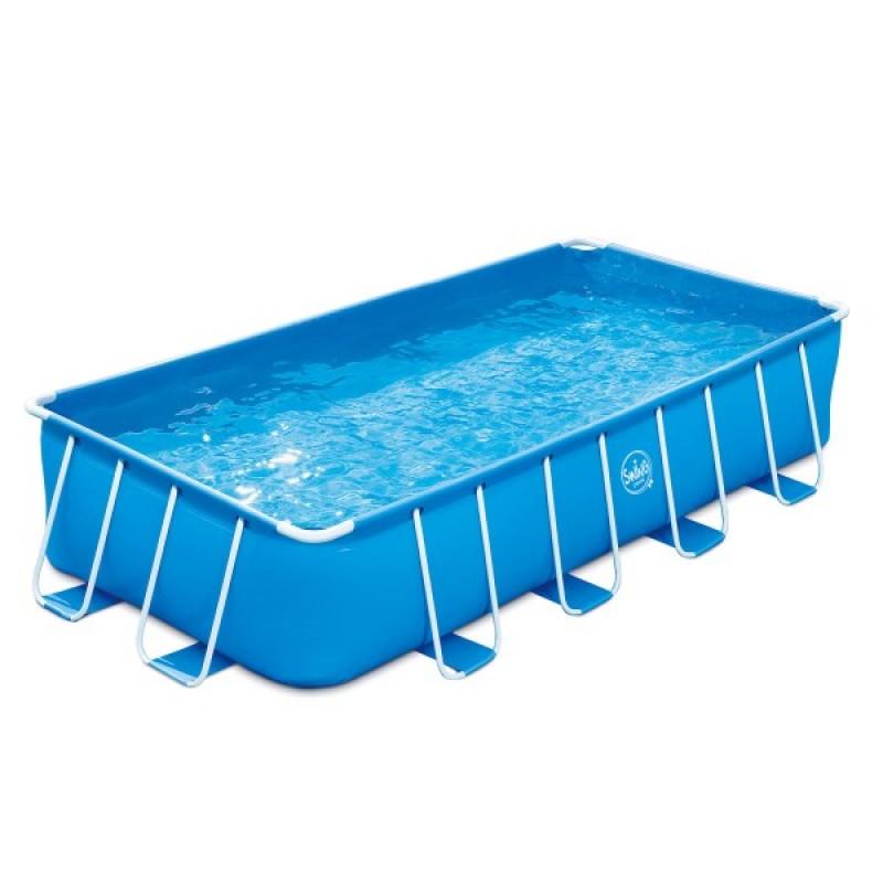 Piscina Frame rectangular con soporte lateral