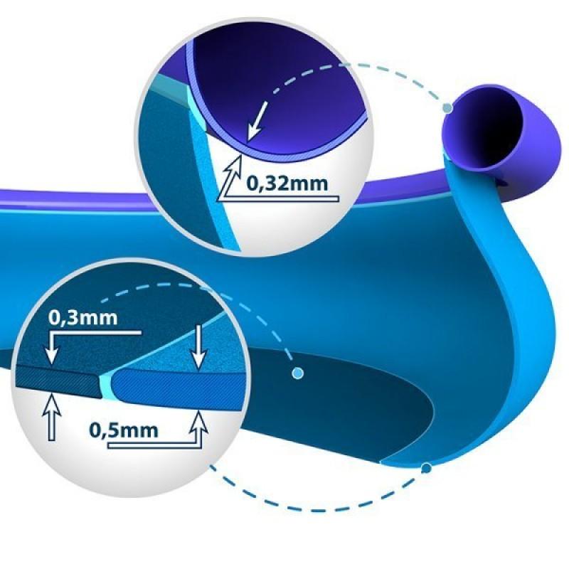 Espessura da liner da piscina Easy Set