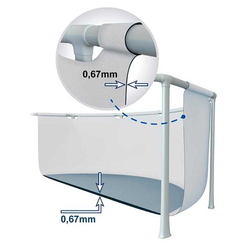 Liner Piscina Intex Ultra Frame 732x366x132cm