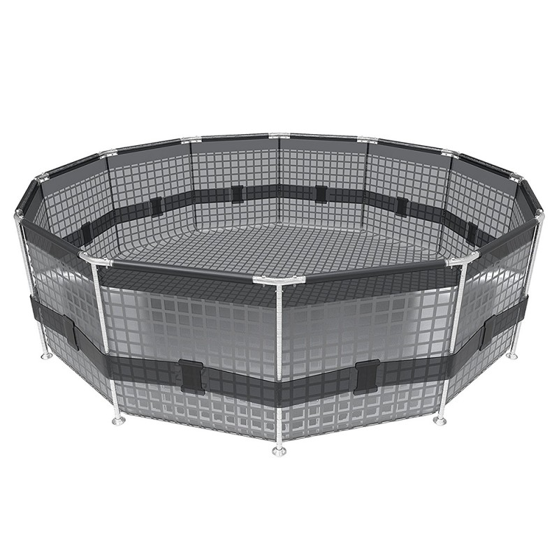 Piscina Bestway Steel Pro Max Ø 305 x 76 cm estrutura tubular