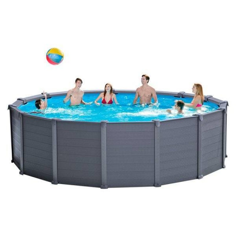 Uso da piscina Grephite Panel