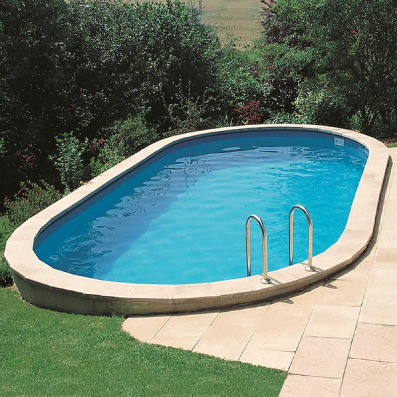 Piscina enterrada gre sumatra oval outlet piscinas portugal for Oulet piscinas