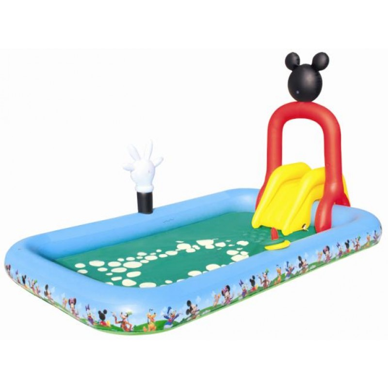 Piscina infantil Mickey con Tobogán