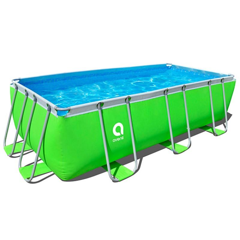 Piscina Pool Airbnb 400 x 200 x 100