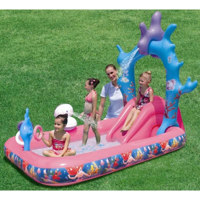 Piscina Princesas Disney com Escorrega