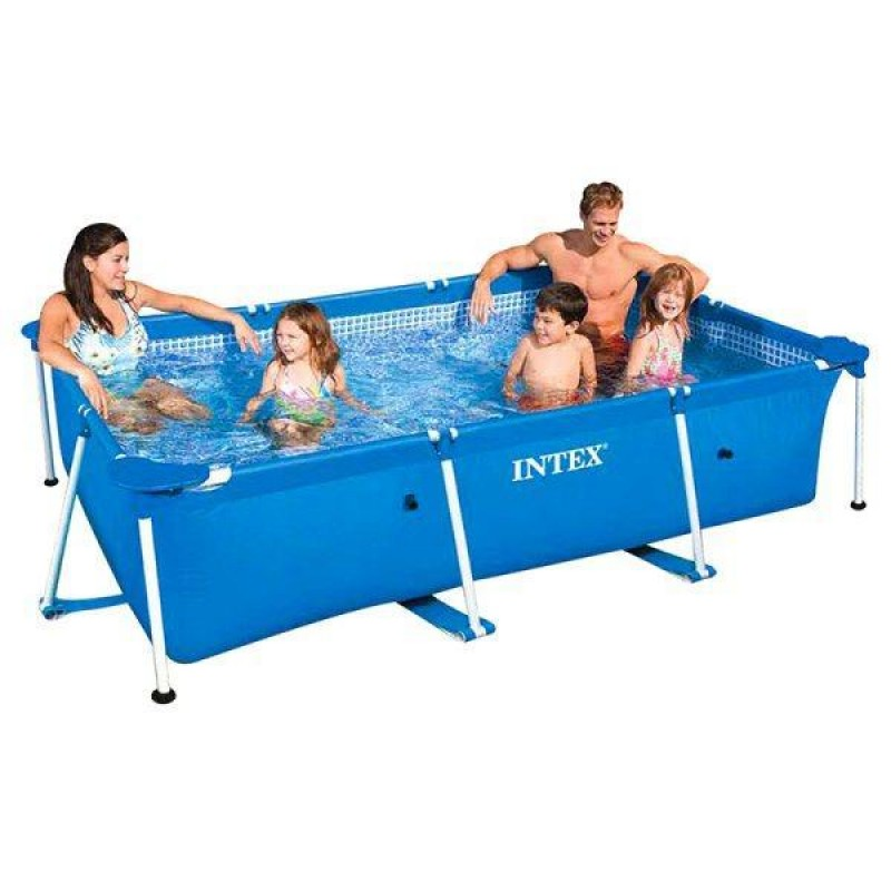 Piscina Small Frame Intex familiar
