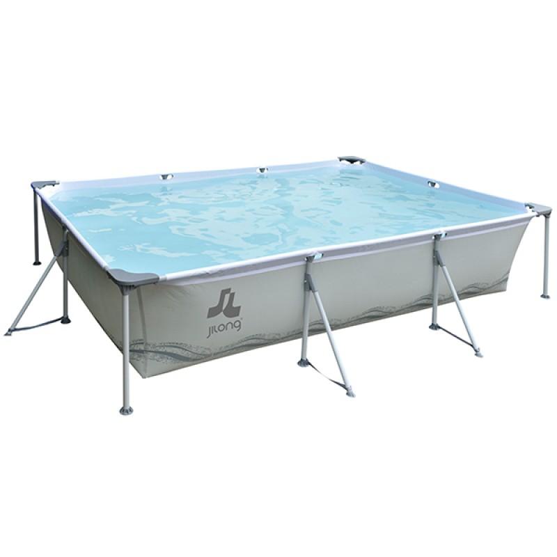 Piscina steel frame 300x207x70cm outlet piscinas portugal for Outlet piscinas