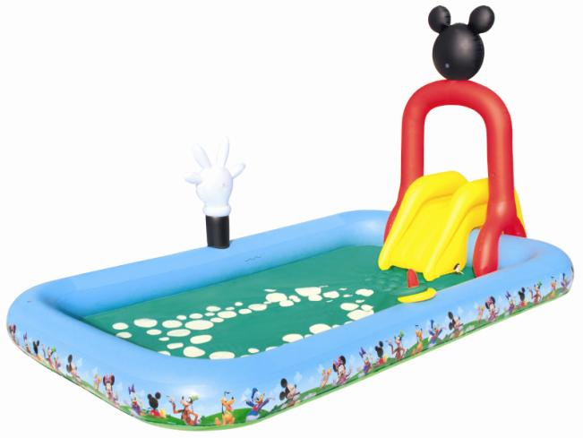 Piscina Infantil Mickey com Escorrega
