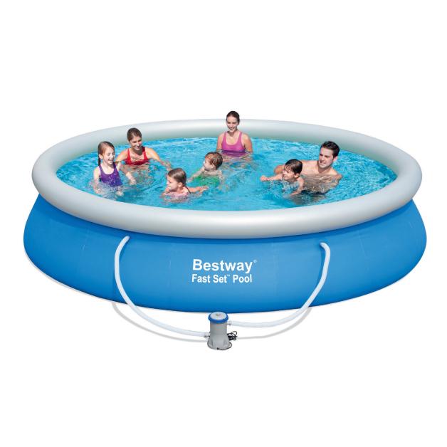 Piscina insufl vel bestway 427 x 91 outlet piscinas portugal for Outlet piscinas